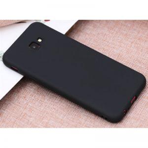 Матовый cиликоновый чехол (накладка) для Samsung J415 Galaxy J4 Plus (Black)