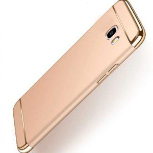 Золотой пластиковый чехол (накладка) Joint Series для Samsung J415 Galaxy J4 Plus (Gold)
