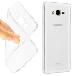 Прозрачный силиконовый (TPU) чехол (накладка) для Samsung J510 Galaxy J5 (2016) (Clear)