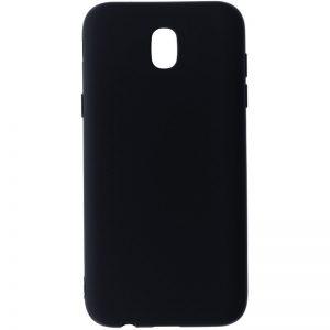 Матовый cиликоновый чехол (накладка) для Samsung J530 Galaxy J5 (2017) (Black)