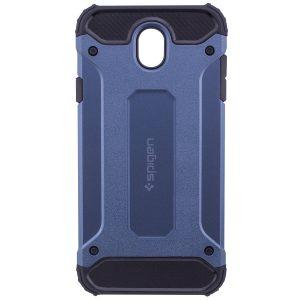 Бронированный противоударный (ударопрочный) чехол (бампер) TPU+PC для Samsung J530 Galaxy J5 2017 (Navy Blue)
