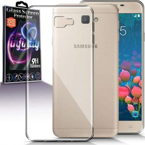 Прозрачный силиконовый (TPU) чехол (накладка) для Samsung G570F Galaxy J5 Prime (2016) (Clear)