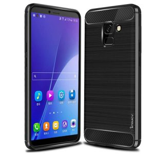 Cиликоновый (TPU) чехол Ipaky Slim Series для Samsung J600 Galaxy J6 (Black)