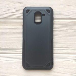 (TPU+PC) противоударный (ударопрочный) чехол Deen Streamline для Samsung J600 Galaxy J6 2018 (Navy Blue)
