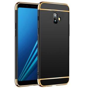 Матовый пластиковый чехол Joint Series  для Samsung Galaxy J6 Plus 2018 (J610) (Black)
