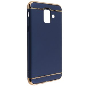 Матовый пластиковый чехол Joint Series для Samsung Galaxy J6 Plus 2018 (J610) (Blue)