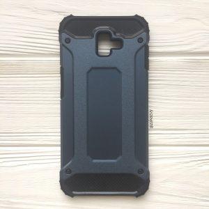 Противоударный бронированный чехол Spigen для Samsung Galaxy J6 Plus 2018 (J610) (Navy Blue)
