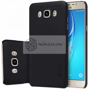 Черный пластиковый чехол (накладка) Nillkin Matte для Samsung J710 Galaxy J7 (2016) (Black)