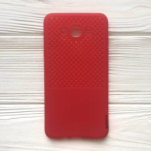 Красный силиконовый (TPU) чехол (накладка) для Samsung J710 Galaxy J7 (2016) (Red)