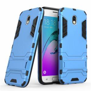 Ударопрочный чехол Transformer с подставкой для Samsung J730 Galaxy J7 2017 (Blue)