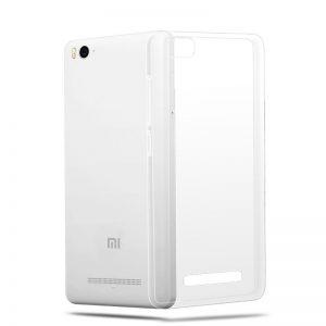 Прозрачный силиконовый (TPU) чехол (накладка) для Xiaomi Mi 4c / Mi 4i / X9 (Clear)