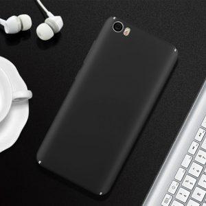 Черный матовый пластиковый чехол (накладка) Joyroon с защитой торцов для Xiaomi Mi 5 (Black)