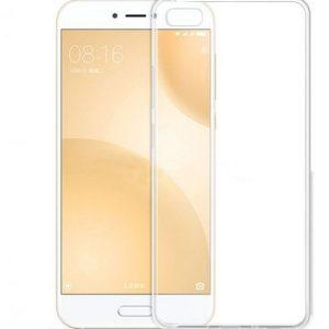 Прозрачный силиконовый (TPU) чехол (накладка) для Xiaomi Mi 5c (Clear)