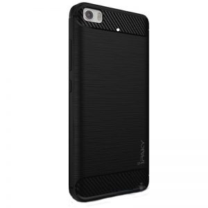 Оригинальный силиконовый чехол (накладка) Ipaky Slim (TPU) для Xiaomi Mi 5s (Black)