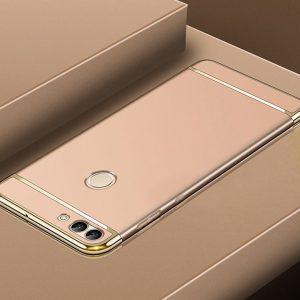 Золотой пластиковый чехол (накладка) Joint Series для Xiaomi Mi 8 Lite (Gold)
