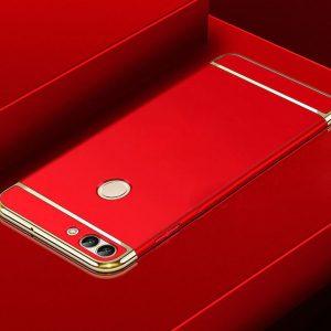 Матовый пластиковый чехол Joint Series для Xiaomi Mi 8 Lite (Red)