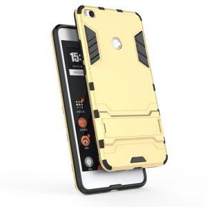Ударопрочный чехол Transformer с подставкой для Xiaomi Mi Max 2 (Gold)