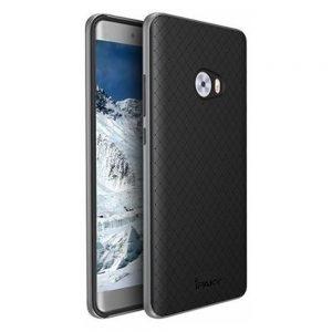 Оригинальный чехол (накладка) черно-серый Ipaky (TPU+PC) для Xiaomi Mi Note 2 (Black / Grey)