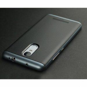 Оригинальный чехол (накладка) черно-серый Ipaky (TPU+PC) для Xiaomi Redmi Note 3 / 3 Pro (Black / Grey)