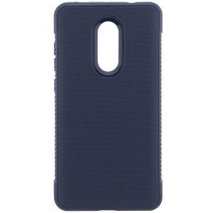 Cиликоновый (TPU) чехол Weave для Xiaomi Redmi Note 4x / Note 4 Snapdragon (Синий)