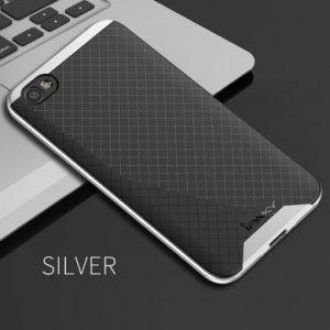 Оригинальный чехол (накладка) Ipaky (TPU+PC) для Xiaomi Redmi Note 5A / Y1 Lite (Black/Silver)
