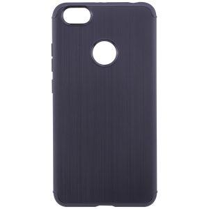 Cиликоновый (TPU) чехол Metal для Xiaomi Redmi Note 5A Prime / Y1 (Black)
