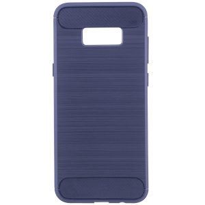 Cиликоновый (TPU) чехол Slim Series для Samsung G955 Galaxy S8 Plus (Blue)