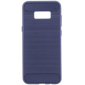 Cиликоновый (TPU) чехол Slim Series  для Samsung G955 Galaxy S8 Plus (Blue)