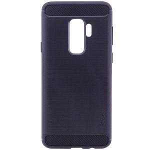 Черный силиконовый (TPU) чехол (накладка) Ipaky Slim Series для Samsung G965 Galaxy S9 Plus (Black)