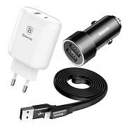 Зарядные устройства и USB кабели