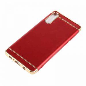 Матовый пластиковый чехол Joint Series  для Samsung A750 Galaxy A7 2018 (Red)