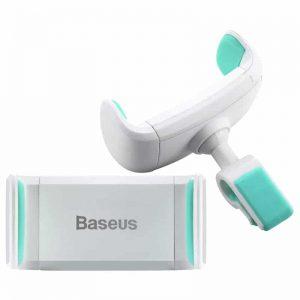 Автодержатель Baseus Stable Series Car Mount Blue (SUGX-13) (Белый/Голубой)