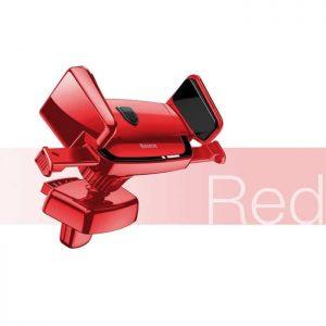 Автомобильный держатель для телефона Baseus Robot Air Vent Car Mount (Red / Красный)