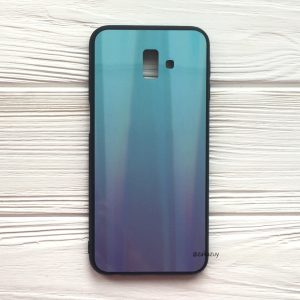 Чехол с градиентом для Samsung Galaxy J6 Plus 2018 (J610) (Blue / Violet)