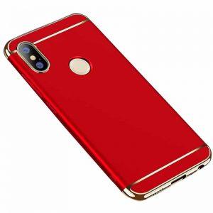 Матовый пластиковый чехол Joint Series для Huawei Honor 8x (Red)