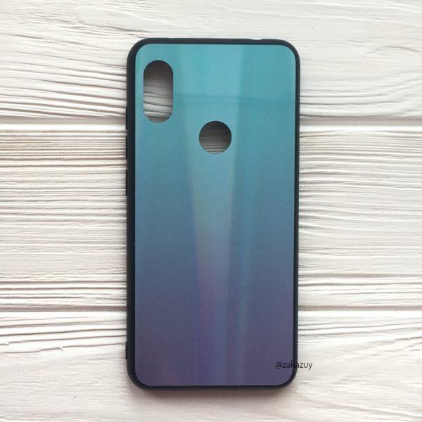 Чехол с градиентом Aurora Gradient для Xiaomi Redmi Note 6 / 6 Pro (Голубой / Фиолетовый)