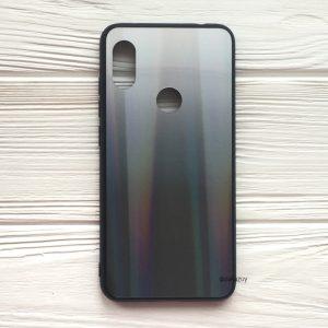 Чехол (накладка) TPU+Glass с градиентом Gradient Aurora для Xiaomi Redmi S2 (Белый / Черный)