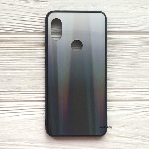 Бело-черный чехол (накладка) с градиентом для Xiaomi Redmi Note 5 / 5 Pro (White/Black)