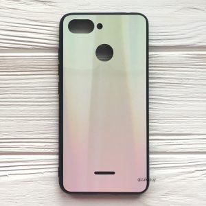 Желто-розовый чехол (накладка) с градиентом для Xiaomi Redmi 6 (Yellow/Pink)