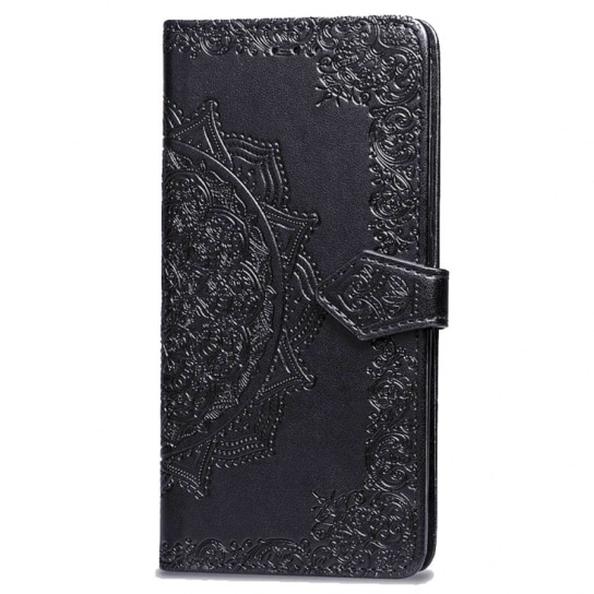 Черный кожаный чехол-книжка Art Case с визитницей для Xiaomi Redmi Note 5 / 5 Pro (Black)