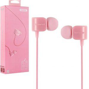 Наушники (cтерео гарнитура) Remax RM-502 (Розовый / Pink)