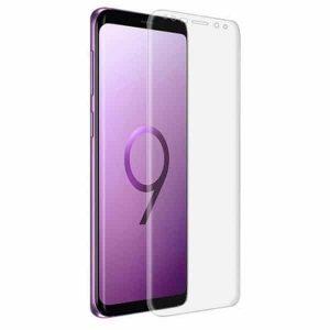 Защитное стекло 3D Full Cover (на весь экран) для Samsung G960F Galaxy S9 (Прозрачное / Clear)