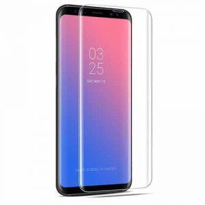 Защитное стекло 3D Full Cover (на весь экран) для Samsung G965F Galaxy S9 Plus (Прозрачное / Clear)