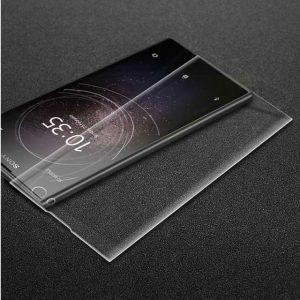 Защитное стекло 3D Full Cover для Sony Xperia XA2 Plus на весь экран – Clear