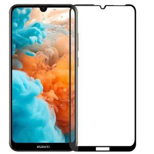 Защитное стекло 3D (5D) Full Glue Armor Glass на весь экран для Huawei Y7 2019 / Y7 Prime / Y7 Pro – Black