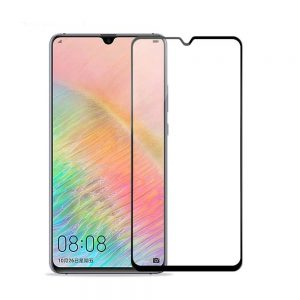 Защитное стекло 4D Full Glue на весь экран для Huawei Y7 (2019) Black