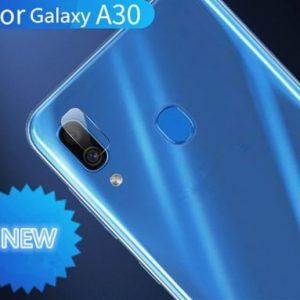 Защитное стекло на камеру для Samsung A305 Galaxy A30 (Прозрачное)