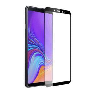 Защитное стекло 3D/5D Full Glue (на весь экран) для Samsung A920 Galaxy A9 2018 (Black)