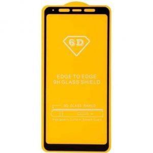 Защитное стекло 6D Full Glue (на весь экран) для Samsung A920 Galaxy A9 2018 (Black)