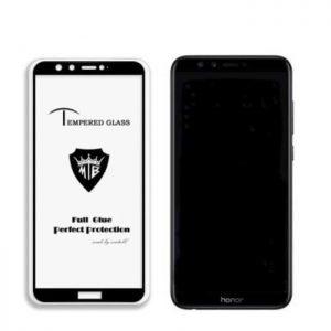 Защитное стекло 3D (5D) Perfect Glass Full Glue на весь экран для Huawei Honor 9 — Black